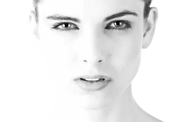 krásná tvář
